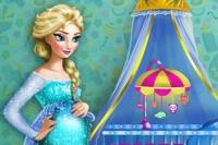 Chambre de bébé d'Elsa
