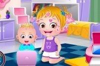 La journée du petit frère de bébé Hazel