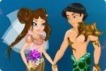 Mariage sous la mer