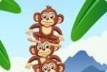 Petits singes équilibristes