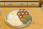 Prépare des kebab
