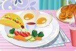 Un délicieux petit déjeuner